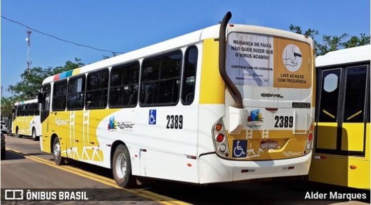Rio Branco: Rodoviários realizam novo protesto nesta tarde de quarta-feira