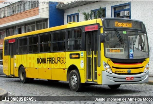 RJ: Terminou nesta tarde, a greve de ônibus em Nova Friburgo
