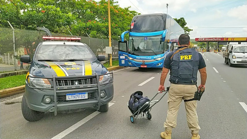 RJ: Operação da PRF e Polícia Civil prendem 4 pessoas por tráfico de entorpecentes e porte de munição em Itatiaia