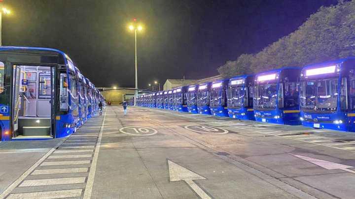 TrasMilenio inicia operação em nova rota nesta sábado com ônibus elétricos