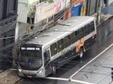 SP: Acidente de ônibus em Jundiaí deixa motorista ferida neste sábado