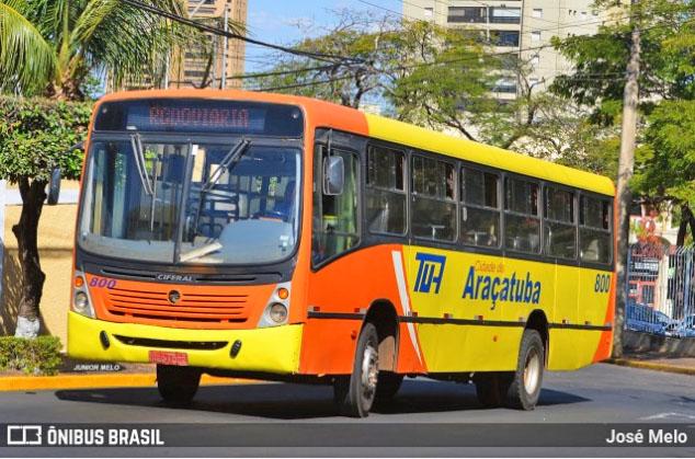 SP: Tarifa de ônibus em Araçatuba terá aumento