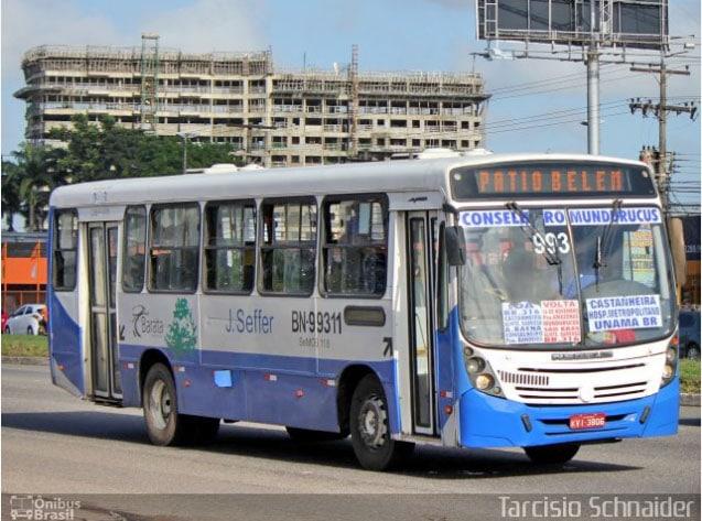 Assaltante de ônibus acaba preso em Belém