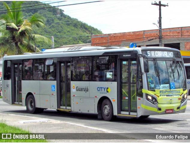 SP: Prefeitura de Guarujá anuncia reajuste na tarifa de ônibus para esta segunda-feira