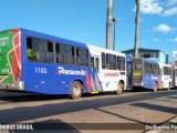 MG: Funcionários da Viação Presidente Lafaiete recolhem ônibus para a garagem nesta tarde