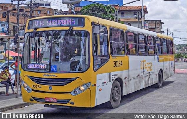 Salvador: Ônibus da linha Paripe x Pituba é assaltado por quatro homens no subúrbio da cidade