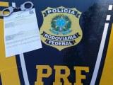MG: PRF apreende homem com mandado de prisão em aberto em Oliveira