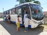 RJ: Ônibus de testagem itinerante para a Covid-19 chama atenção em Campos dos Goytacazes