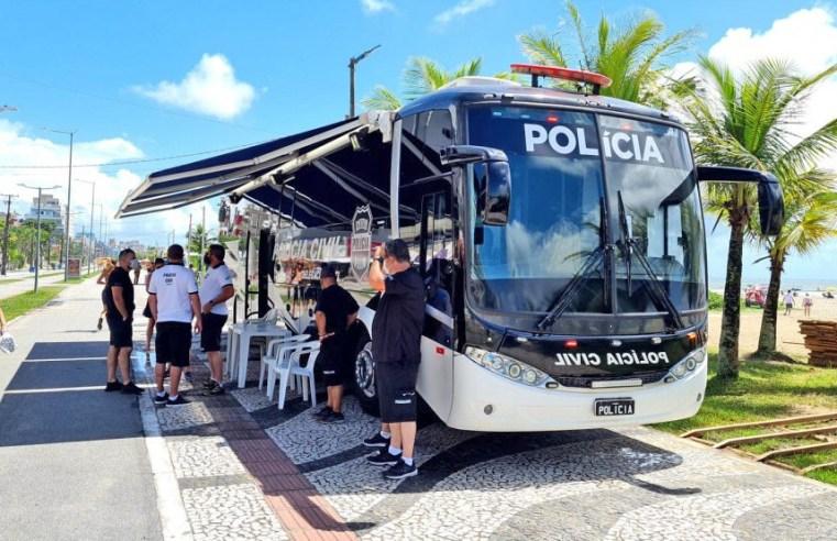 PR: Polícia Civil prorroga atuação da Delegacia Móvel no Litoral