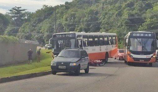 Vídeo: Acidente entre ônibus e carro chama atenção na rodovia Arthur Bernardes  em Belém