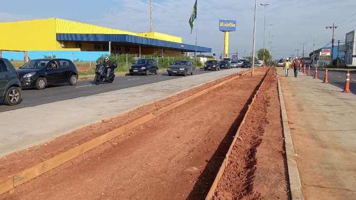 SP: Obras de reconstrução de ciclovia da Avenida Ipanema são iniciadas nesta semana em Sorocaba