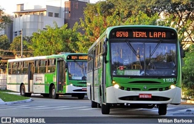 São Paulo: Prefeitura altera itinerários de 11 linhas para obra na Lapa