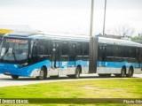 Rio: Passageira do BRT Rio é atingida por peça solta em ônibus articulado