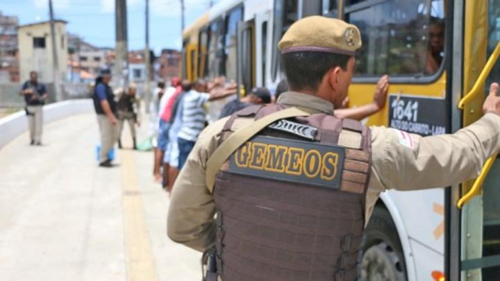 Salvador: Polícia prende oito assaltantes de ônibus em menos de uma semana