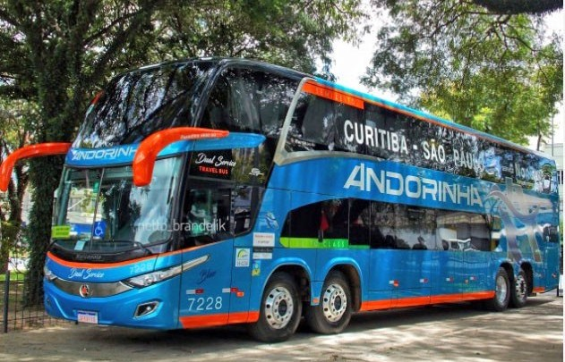 Viação Andorinha incia operação na linha São Paulo x Curitiba x São Paulo com passagem a partir de R$ 59,90