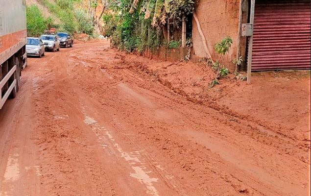 MG: DER  libera tráfego de rodovia na região de Santa Maria de Itabira