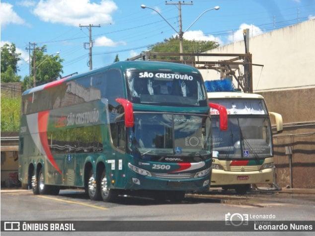 MG: São Cristóvão escala novo DD Scania na linha Patos de Minas x Brasília