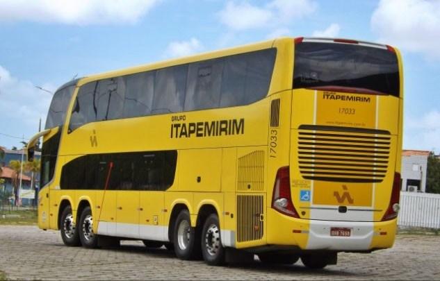 Viação Itapemirim disponibiliza ônibus DD na linha Guarabira x São Paulo