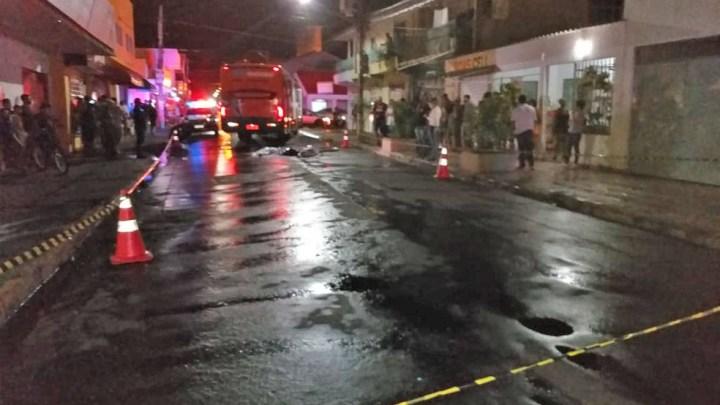 MT: Ciclista morre atropelado por ônibus em Rondonópolis