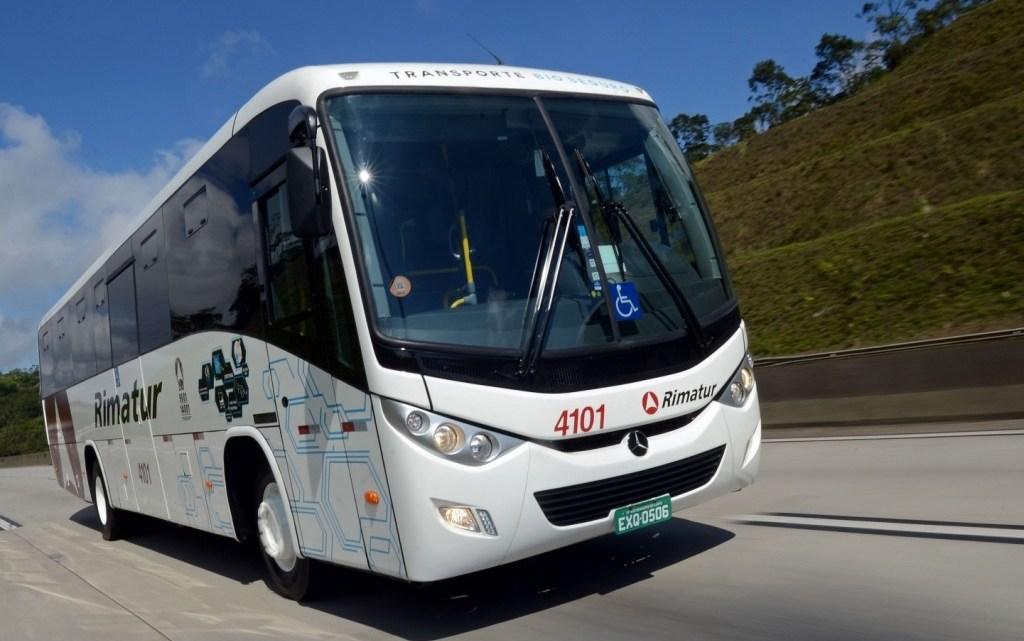 Rimatur renova parte de sua frota com 30 novos ônibus Ideale 800 Mercedes-Benz OF-1621