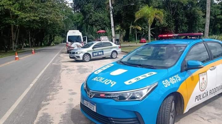 RJ: Detro fiscaliza 267 veículos no primeiro fim de semana de atuação nas barreiras sanitárias