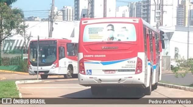 Campo Grande realiza desinfecção de ruas e terminais de ônibus