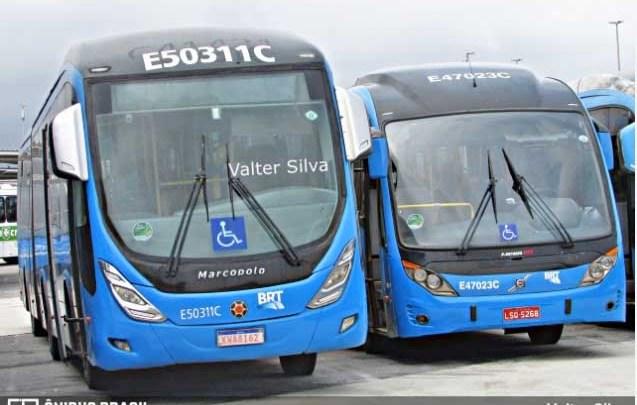 Vídeo: Passageiros do BRT Rio flagram superlotação e aglomeração nos ônibus articulados