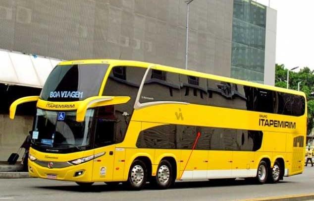 Itapemirim aposta no serviço semi-leito e Expresso União no leito total na Rio x Cachoeiro de Itapemirim