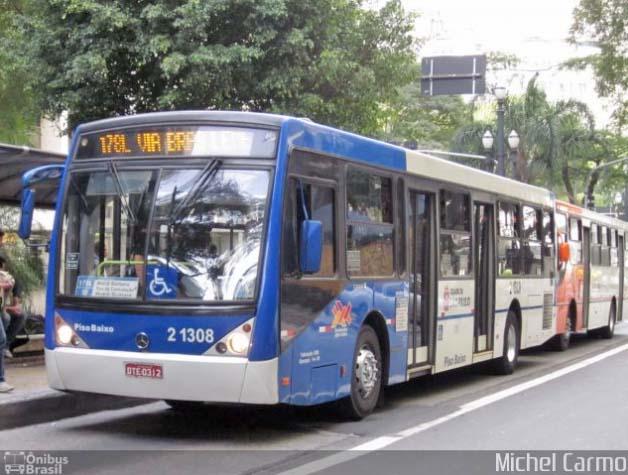SPTrans altera dez itinerários na região central neste sábado