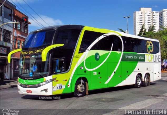 Curitiba: Princesa dos Campos oferece passagem promocional no valor de R$ 39,90 para cidades de São Paulo