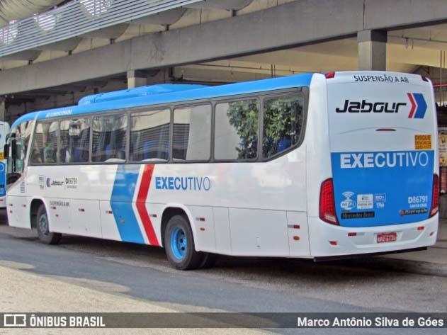 Rio: Fiscal da Viação Jabour é flagrado sem utilizar máscara em ônibus