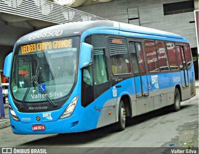 Rio: Intervenção no BRT começa com ônibus convencionais fazendo linha expressa entre  Santa Cruz e o Terminal do Alvorada