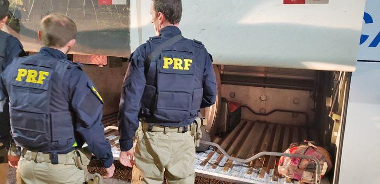 RS: PRF prende foragido da justiça na BR-470 em Bento Gonçalves