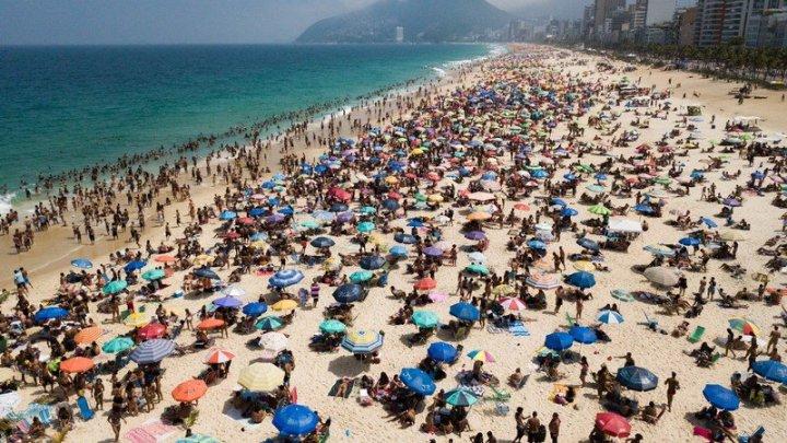 Prefeito do Rio proíbe entrada de ônibus fretados na cidade, banho de mar e prática de esportes na praia