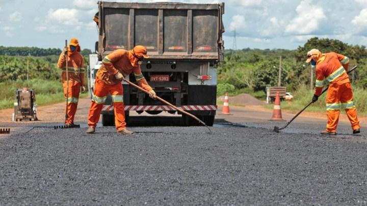 Estradas: DNIT avança com manutenção da BR-158 em Mato Grosso