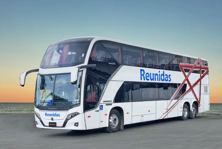 Reunidas Paulista renova com 8 novos Busscar Vissta Buss DD Mercedes-Benz