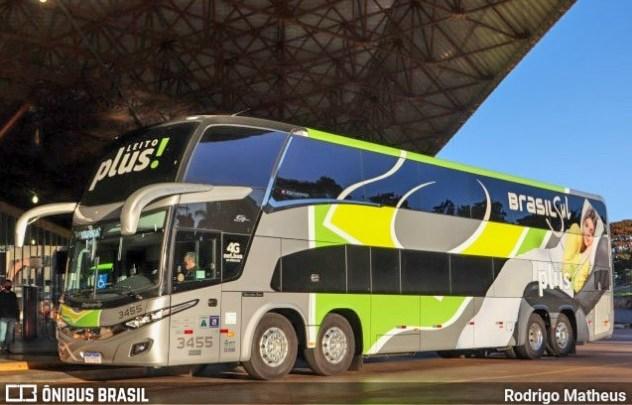 Brasil Sul inicia plotagem de novos ônibus no serviço Leito Plus