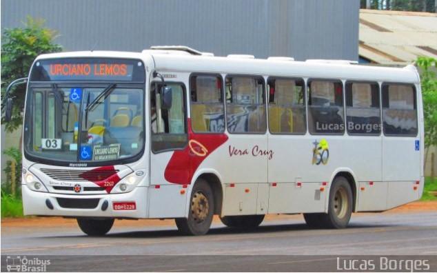 MG: Vera Cruz segue com 20 ônibus bloqueados  por dívida de financiamento