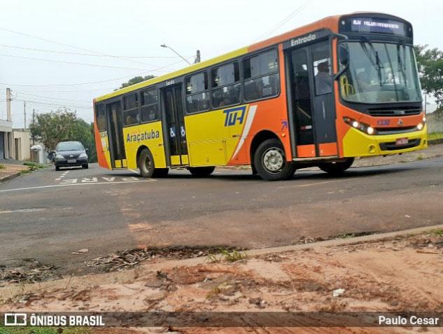 SP: Ônibus atropela e mata idosa em Araçatuba