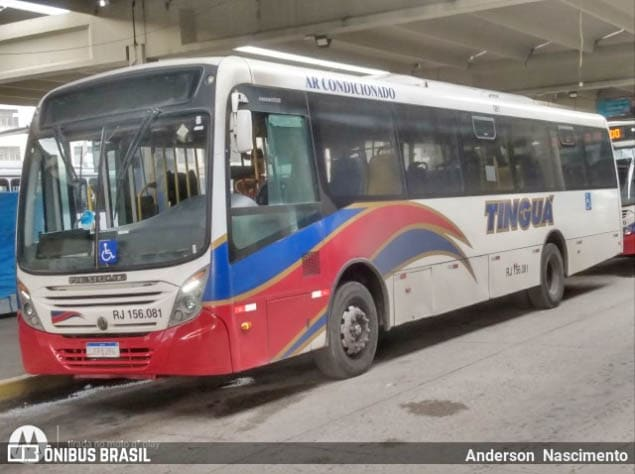 Rio: Bandidos assaltam ônibus da Transportadora Tinguá nesta terça-feira, na altura do INTO