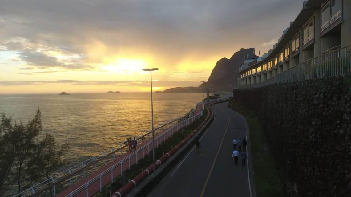 Rio: Faixa reversível da Avenida Niemeyer vai permanecer suspensa até quinta-feira