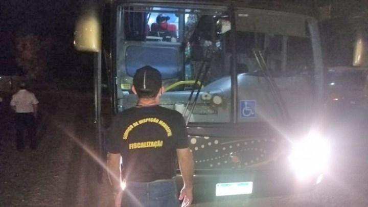 MS: Ônibus que saiu de São Paulo com destino a Bolívia é apreendido em Corumbá