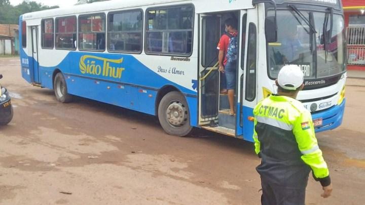 Macapá realiza fiscalização no transporte municipal para evita aglomerações