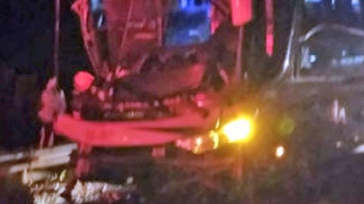 SP: Acidente com ônibus na Rodovia Anhanguera deixa um ferido