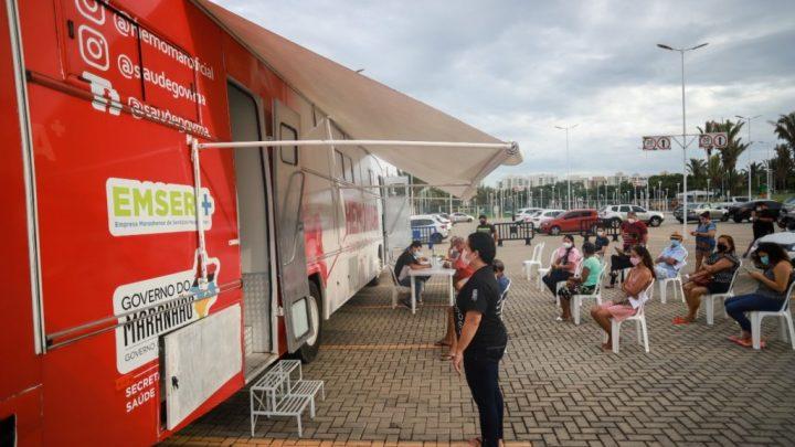 Maranhão disponibiliza novos pontos de testagem para a Covid-19 na capital