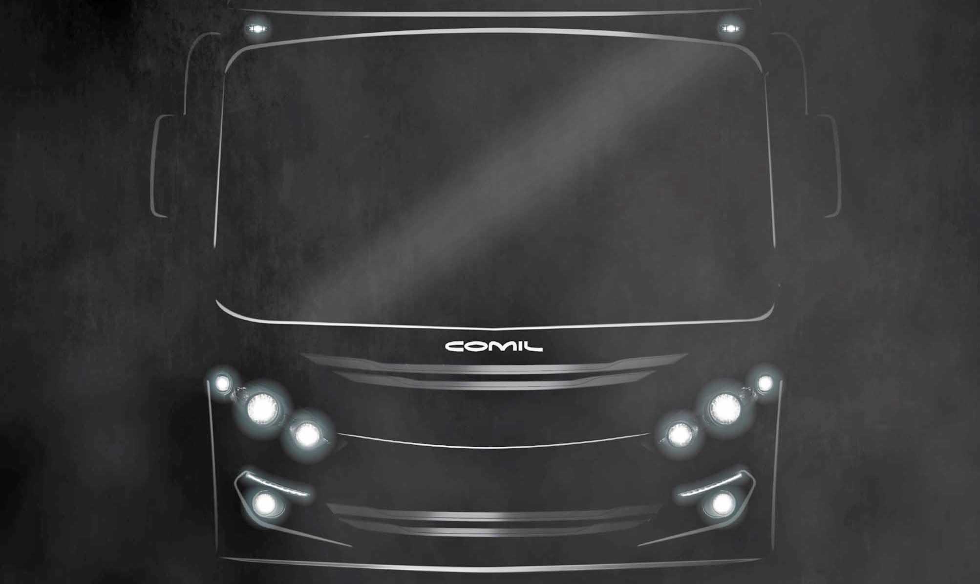 Comil anuncia o lançamento do novo micro-ônibus Piá