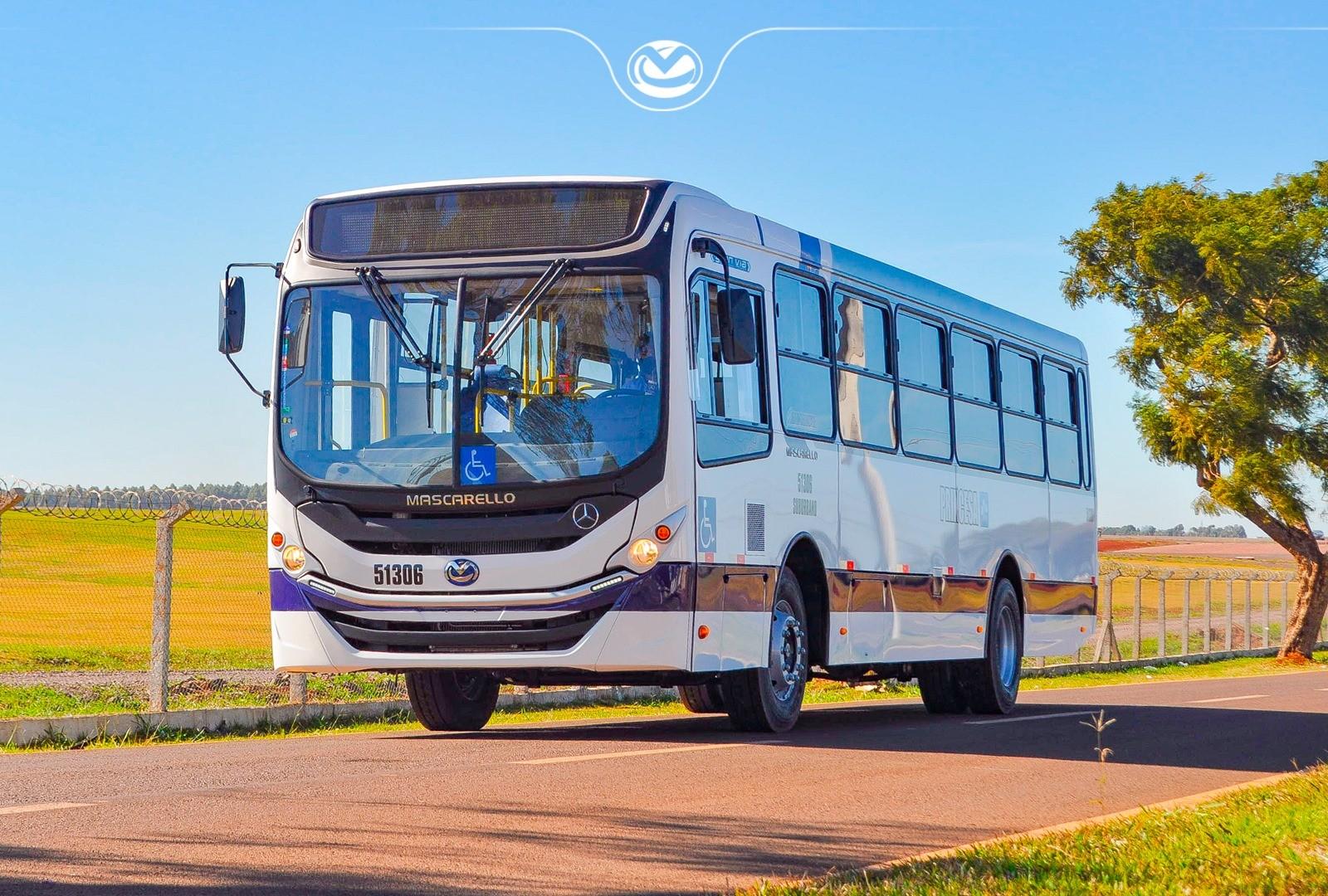 Princesa do Norte renova frota urbana com 10 novos ônibus Mascarello Gran Via OF-1519