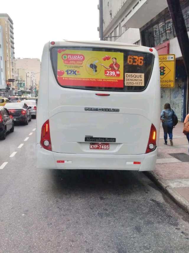 Rio: Ônibus circula na linha 636 sem identificação - revistadoonibus