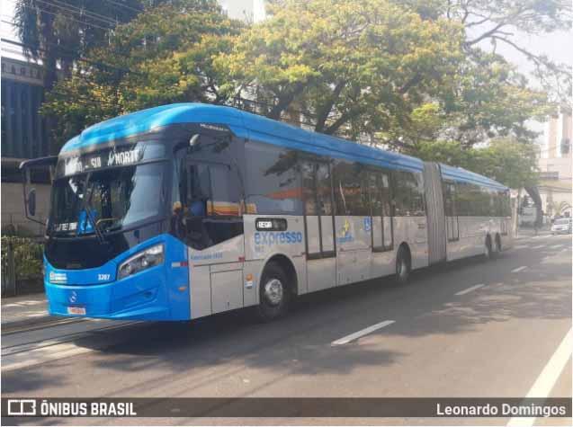 SP: Idosa é atropelada por BRT em Sorocaba nesta manhã