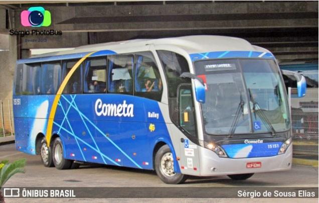 SP: Viação Cometa escala ônibus com 40 poltronas na São Paulo x Santos